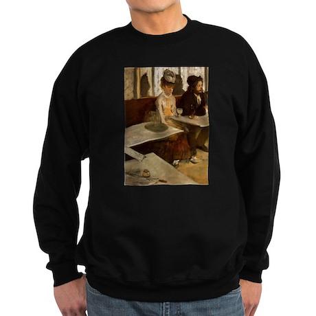 Edgar Degas -L'Absinthe Sweatshirt (dark)