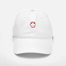 Vintage Swiss Baseball Baseball Cap