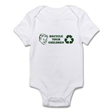 Recycle your children Infant Bodysuit