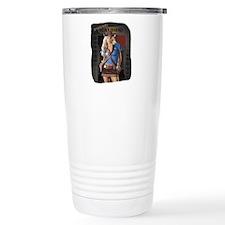 Posse Saloon Girl Travel Coffee Mug