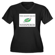 The Giant Squid Whisperer Women's Plus Size V-Neck