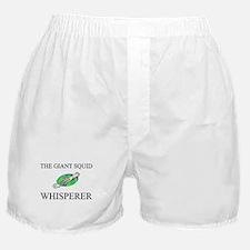 The Giant Squid Whisperer Boxer Shorts