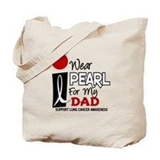 I Wear Pearl For My Dad 9 Tote Bag