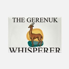 The Gerenuk Whisperer Rectangle Magnet
