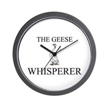 The Geese Whisperer Wall Clock