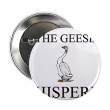"""The Geese Whisperer 2.25"""" Button (10 pack)"""