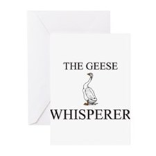 The Geese Whisperer Greeting Cards (Pk of 10)