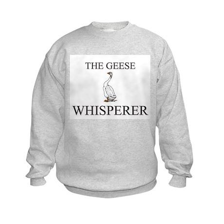 The Geese Whisperer Kids Sweatshirt