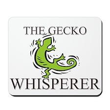 The Gecko Whisperer Mousepad