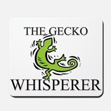 The Gecko Whisperer Mousepad