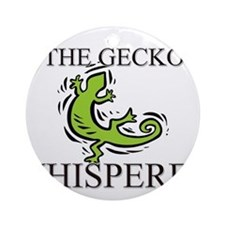The Gecko Whisperer Ornament (Round)