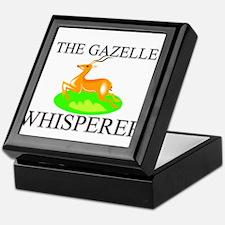 The Gazelle Whisperer Keepsake Box