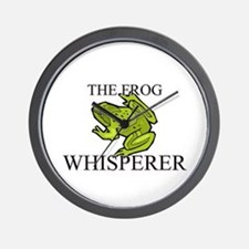 The Frog Whisperer Wall Clock