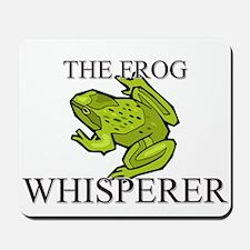 The Frog Whisperer Mousepad