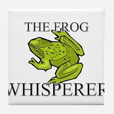 The Frog Whisperer Tile Coaster
