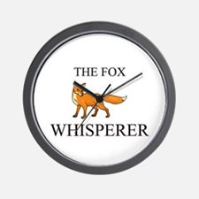 The Fox Whisperer Wall Clock