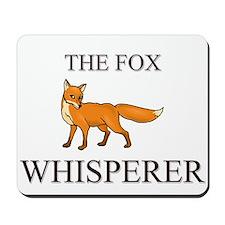 The Fox Whisperer Mousepad