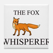The Fox Whisperer Tile Coaster