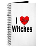 I Love Witches Journal