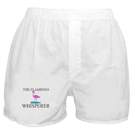 The Flamingo Whisperer Boxer Shorts