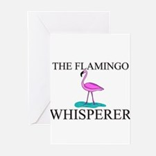 The Flamingo Whisperer Greeting Cards (Pk of 10)