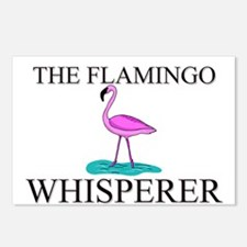 The Flamingo Whisperer Postcards (Package of 8)