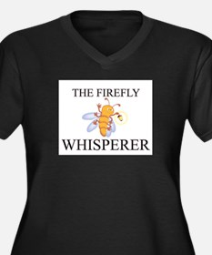 The Firefly Whisperer Women's Plus Size V-Neck Dar