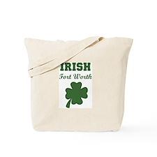 Irish Fort Worth Tote Bag