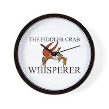 The Fiddler Crab Whisperer Wall Clock