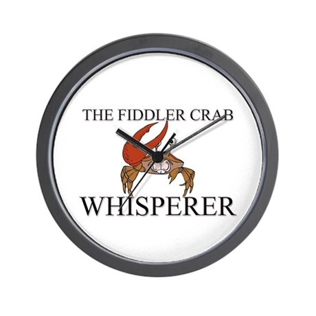 The Fiddler Crab Whisperer Wall Clock