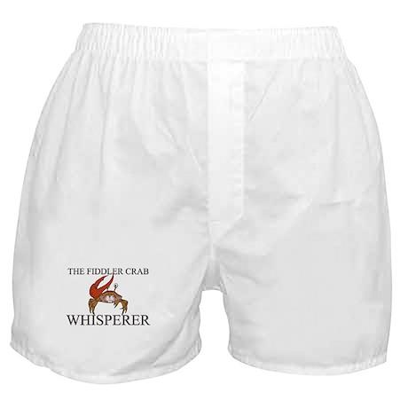 The Fiddler Crab Whisperer Boxer Shorts