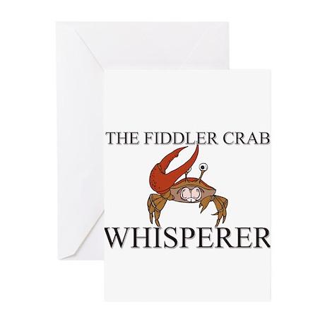 The Fiddler Crab Whisperer Greeting Cards (Pk of 1