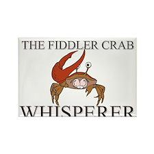 The Fiddler Crab Whisperer Rectangle Magnet