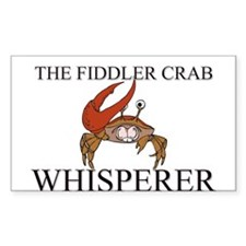 The Fiddler Crab Whisperer Rectangle Decal