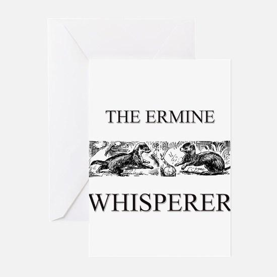 The Ermine Whisperer Greeting Cards (Pk of 10)