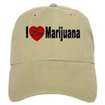 I Love Marijuana Cap