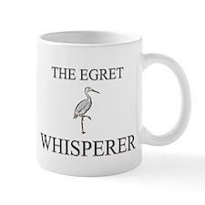 The Egret Whisperer Small Mug