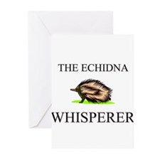 The Echidna Whisperer Greeting Cards (Pk of 10)