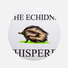 The Echidna Whisperer Ornament (Round)