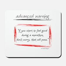 Advanced Warning Mousepad