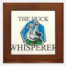 The Duck Whisperer Framed Tile