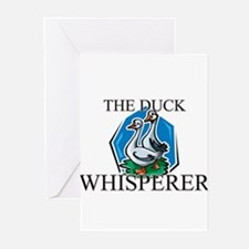 The Duck Whisperer Greeting Cards (Pk of 10)
