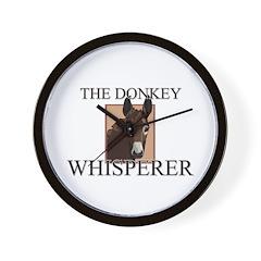 The Donkey Whisperer Wall Clock