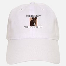 The Donkey Whisperer Baseball Baseball Cap