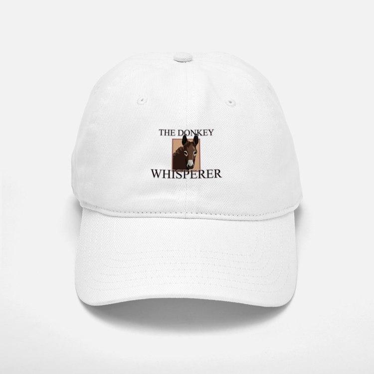 The Donkey Whisperer Baseball Baseball Cap