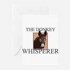 The Donkey Whisperer Greeting Cards (Pk of 10)