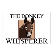 The Donkey Whisperer Postcards (Package of 8)
