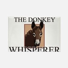 The Donkey Whisperer Rectangle Magnet