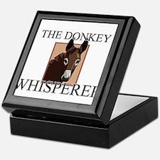 The Donkey Whisperer Keepsake Box