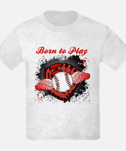 Born to Play Baseball T-Shirt